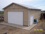 RV garage builder denver